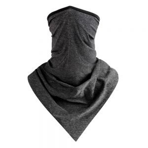 Dark Grey Scarf Mask