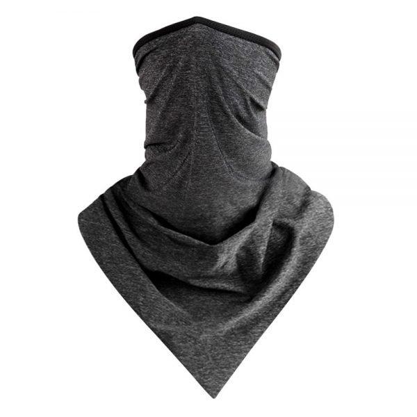 Dark Grey Scarf Mask
