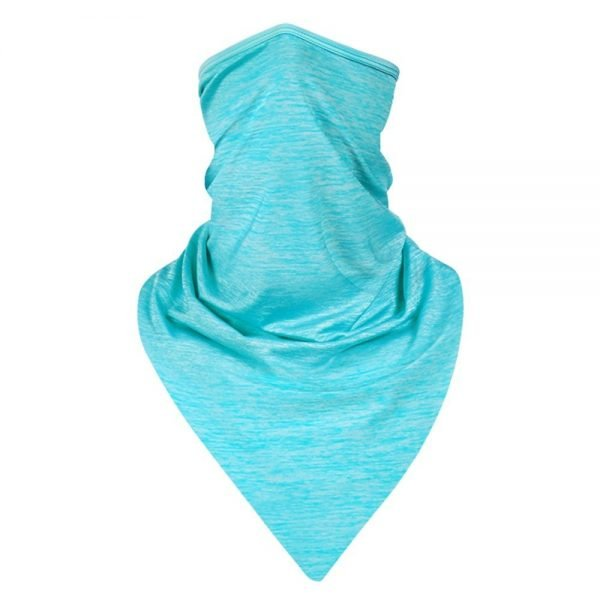Blue Scarf Mask